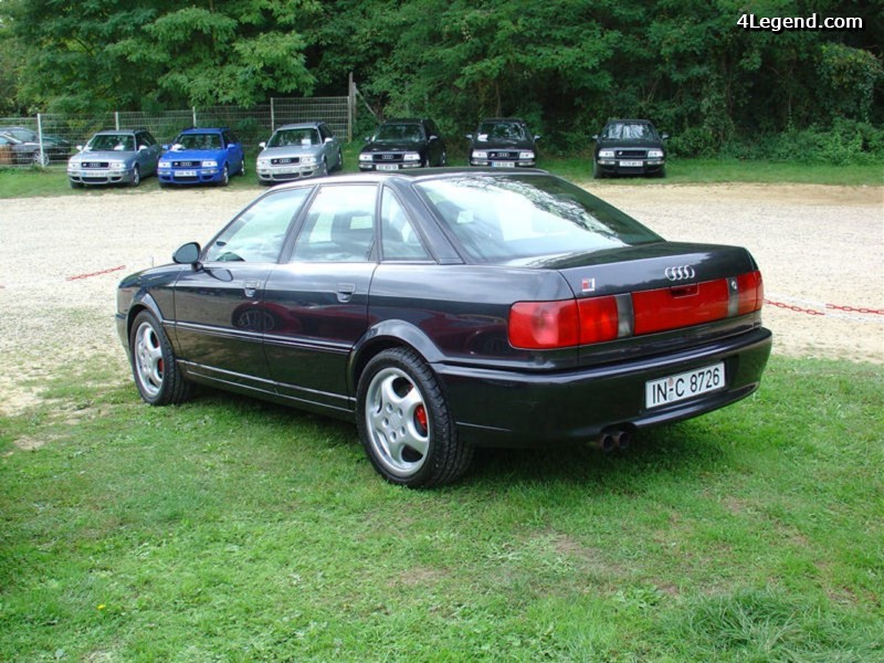 Audi Rs 2 Avant Le Premier Rs D Audi Construit Par