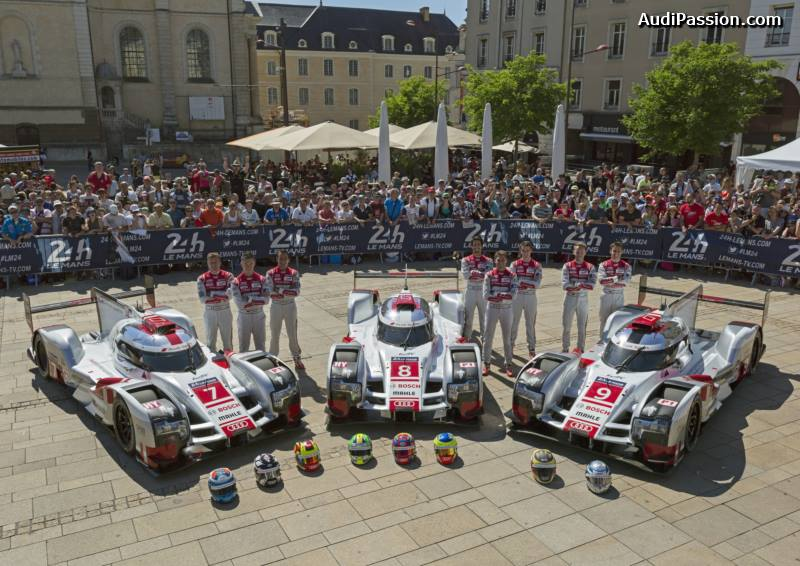 wec pesage des 24 heures du mans 2015 porsche audi. Black Bedroom Furniture Sets. Home Design Ideas