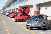 Présentation du pneu Michelin Pilot Super Sport à Dubai – 18 novembre 2010