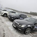 Essais des pneus hiver Michelin Pilot Alpin – Latitude Alpin à Riga
