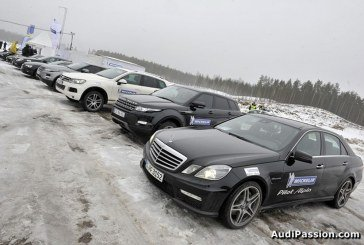 Essais des pneus hiver Michelin Pilot Alpin - Latitude Alpin à Riga
