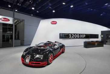 Beijing 2012 - Première mondiale en Asie des Bugatti Veyron 16.4 Grand Sport Vitesse et de la Bugatti Veyron Grand Sport Wei Long 2012