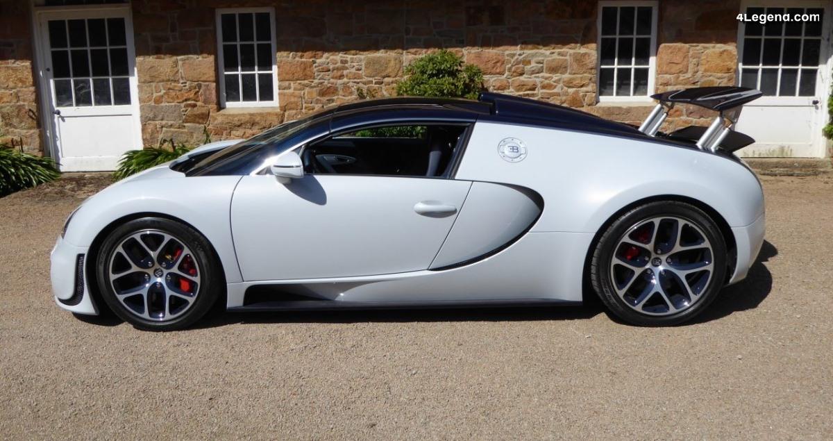 Bugatti Veyron 16.4 Grand Sport Vitesse Rafale de 2012