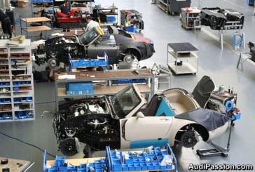 Visite de la manufacture Wiesmann à Dülmen en Allemagne – 3ème partie