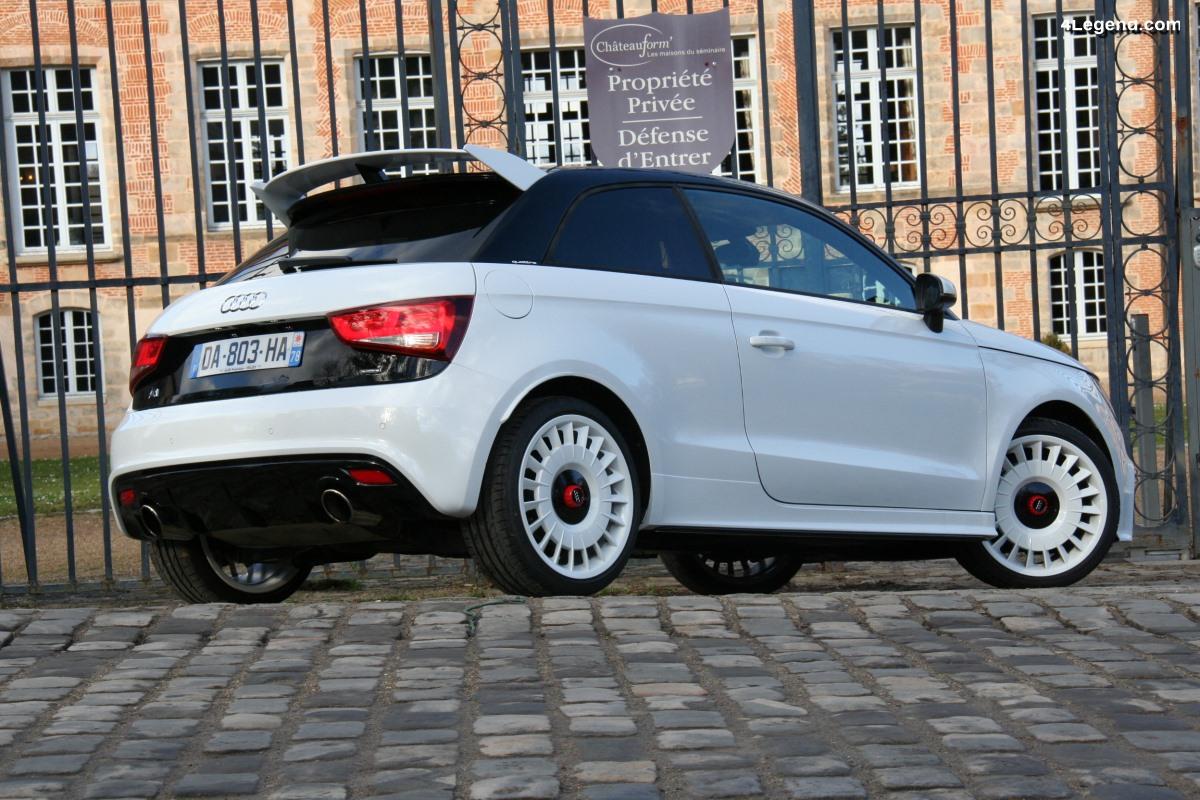 Essai de l'Audi A1 quattro - un futur collector