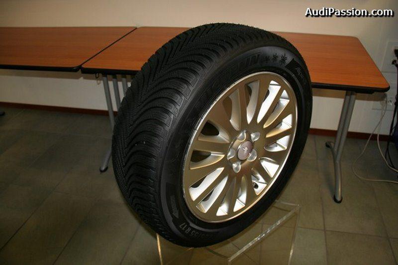 essais du nouveau pneu hiver michelin alpin 5 1 re partie. Black Bedroom Furniture Sets. Home Design Ideas
