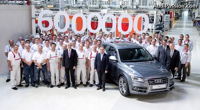 Six millions d'Audi équipées du système quattro ont été produites