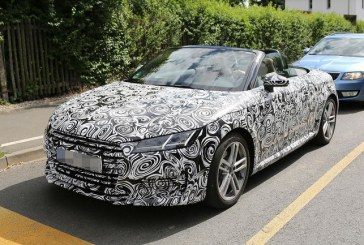 Spyshots – La nouvelle Audi TT Roadster se dévoile