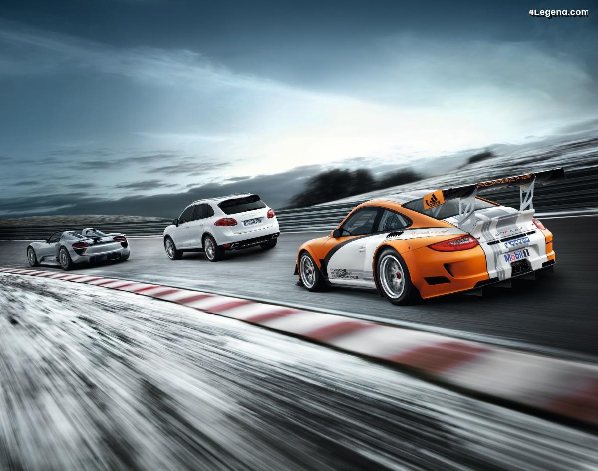 Porsche, pionnier de l'hybride depuis 119 ans