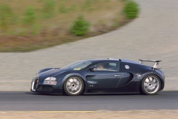 Bugatti Veyron – Le stade de la fabrication en série a été atteint grâce à onze prototypes