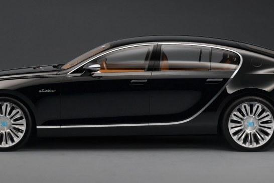 Bugatti 16C Galibier de 2009 - Un concept car Bugatti à 4 portes