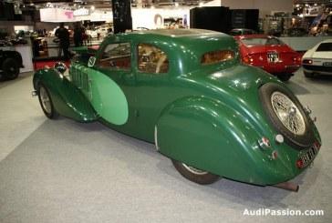 Rétromobile 2013 - Bugatti 57 C Ventoux de 1936 - la première construite