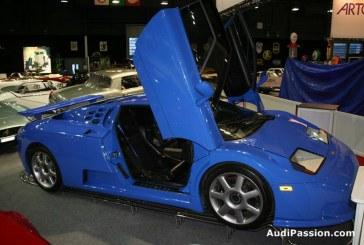 Rétromobile 2013 - La dernière Bugatti EB 110 SS de 1995