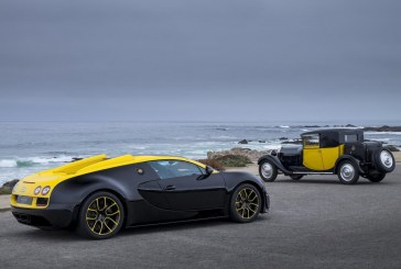 Présentation de la Bugatti Grand Sport Vitesse « 1 of 1 » à Pebble Beach