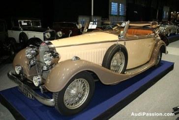 Rétromobile 2013 - Bugatti Type 57 Cabriolet Vanvooren de 1935