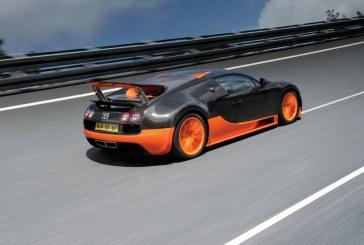 Bugatti Automobiles S.A.S présente la Bugatti Veyron Super Sport Record du Monde lors de la soirée du Groupe VW à Paris