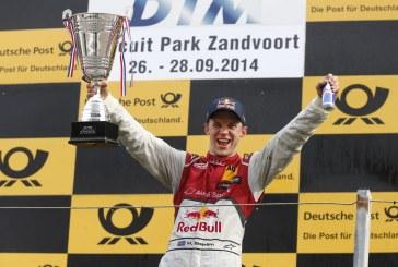 DTM - Victoire d'Audi à Zandvoort avec Mattias Ekström
