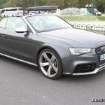 Essai de l'Audi RS 5 Cabriolet en milieu urbain