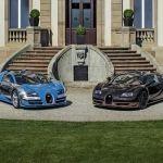 Bugatti a présenté à Pebble Beach les six  modèles de son édition « Les Légendes de Bugatti »