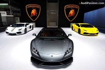 Live Beijing 2014 - Lamborghini Aventador Nazionale & Lamborghini Huracán