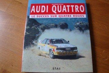 Livre Audi quattro : Le succès sur quatre roues – Jan-Henrik Muche – ETAI