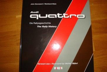 Livre Audi quattro – The Rally History : Nouvelle Bible sur l'histoire d'Audi en rallyes