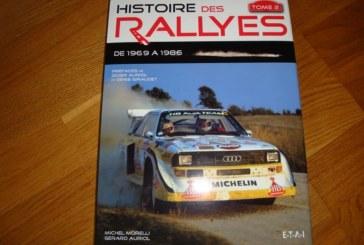 Livre Audi – Histoire des rallyes, Tome 1 et 2