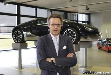 Bugatti - M. Wolfgang Schreiber nommé nouveau Président de Bugatti