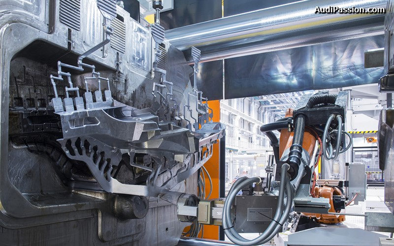 Audi Fertigung Muenchsmuenster ? Strukturbauteile-Fertigung und Aluminiumdruckgiesserei