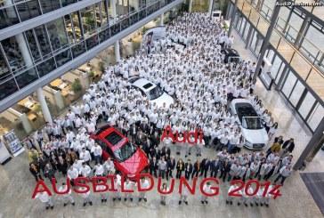 La famille Audi s'agrandit : 724 nouveaux apprentis