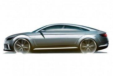 Paris 2014 - Audi TT Sportback concept en approche