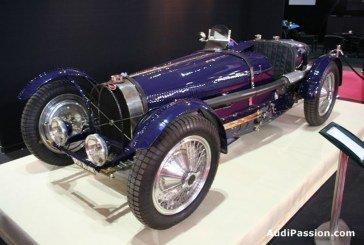 Rétromobile 2013 - Bugatti célèbre le 80ème anniversaire de la Type 59 Grand Prix