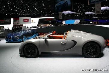 Genève 2012 - Première mondiale de la Bugatti Veyron 16.4 Grand Sport Vitesse - Le cabriolet le plus rapide de tous les temps