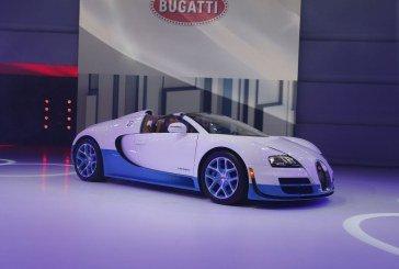 Paris 2012 - Une Bugatti Veyron 16.4 Grand Sport Vitesse spéciale de 1200 CV