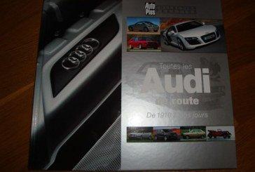 Livre «Toutes les Audi de route – De 1910 à nos jours» – Auto Plus