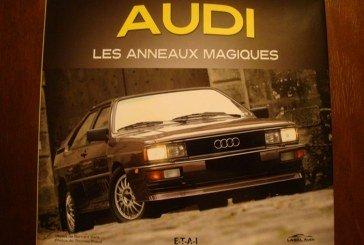 Livre - Audi Les anneaux magiques - Edition E-T-A-I