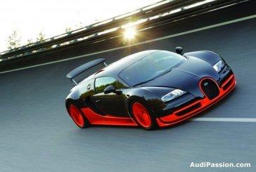 La nouvelle Bugatti Veyron 16.4 Super Sport bat le record du monde de vitesse, faisant entrer la production de voitures de sport dans une toute nouvelle dimension