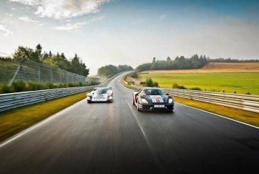 Deux Porsche de records au Nürburgring