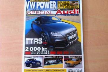 VW Power Special Audi – Nouveau magazine Audi français de qualité