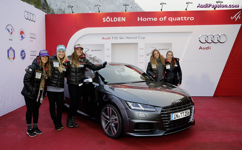 Audi startet in Soelden in alpine WM-Saison