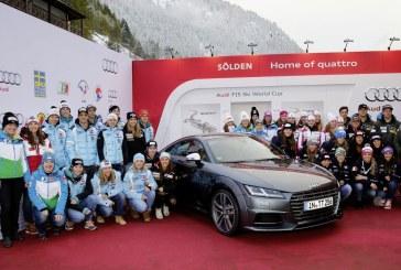 Audi débute la saison de championnat du monde de ski alpin à Sölden