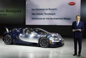 Paris 2014 - Bugatti présente la dernière Légende, « Ettore Bugatti », à l'occasion de la soirée du Groupe Volkswagen