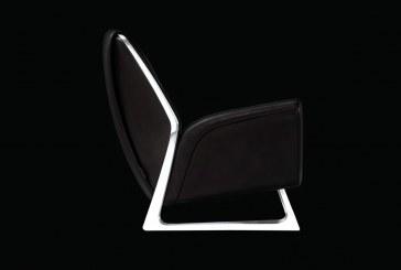 Le fauteuil « Luft » créé par Walter de Silva et Audi design au Mondial de l'automobile