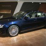 Paris 2014 – Salon Audi exclusive avec une Audi A8 L W12