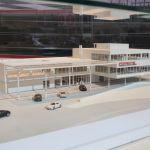 Paris 2014 – Présentation de la maquette du Porsche Experience Center Le Mans