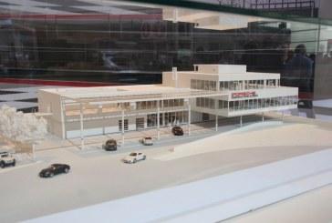 Paris 2014 - Présentation de la maquette du Porsche Experience Center Le Mans