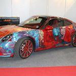 Paris 2014 – Une Porsche 911 Carrera Art Car par Shalemar