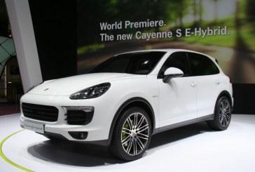 Paris 2014 - Porsche Cayenne S E-Hybrid - Une performance hybride de 416 ch