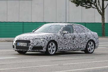 Spyshots de la future Audi A4 B9