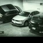 Video – Stationnement étonnant d'une Audi Q3 dans un parking souterrain